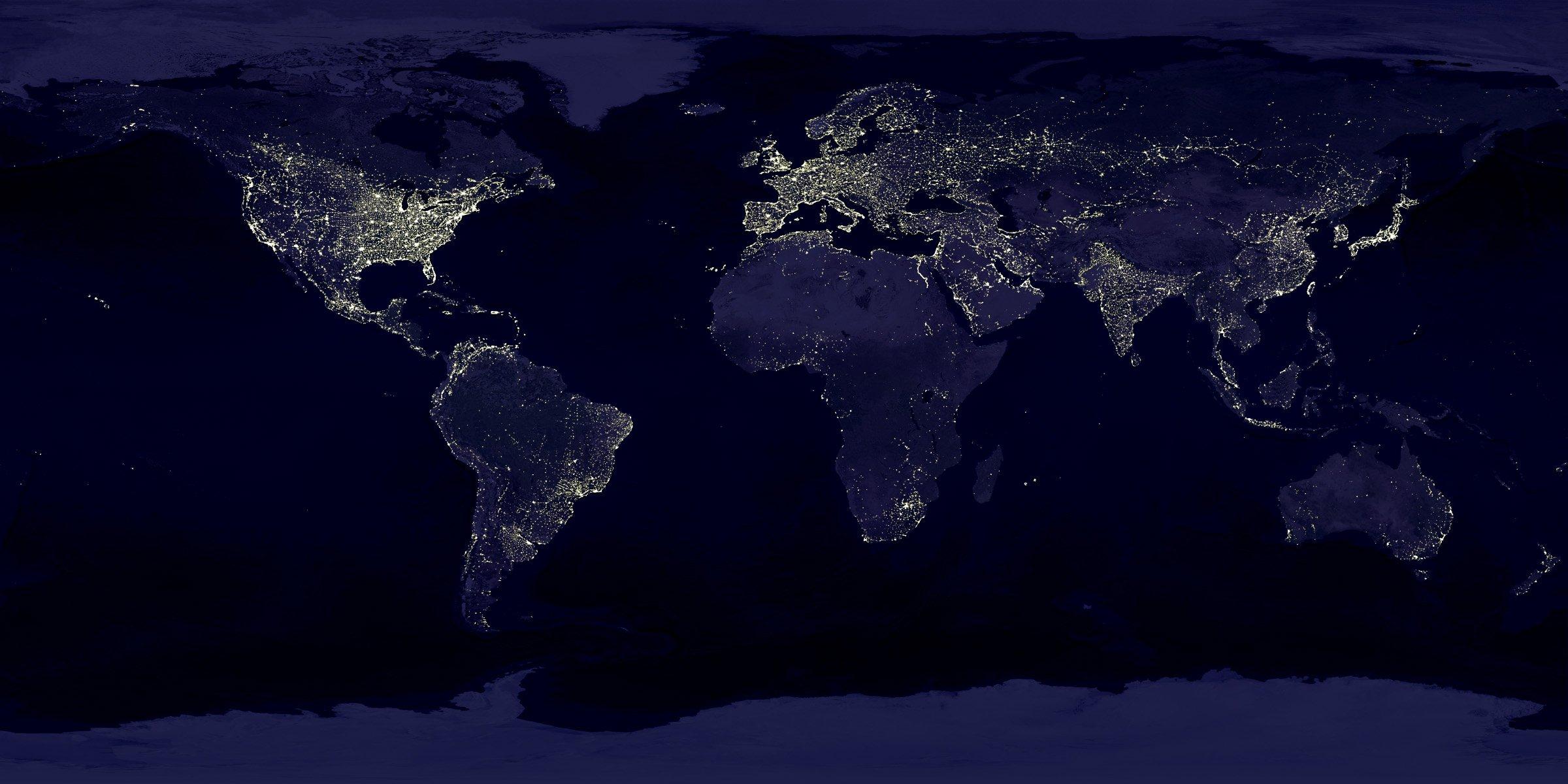карта космоса фото вся земли из